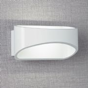 Johnson White LED Wall Light - ENDON JOHNSON-WH